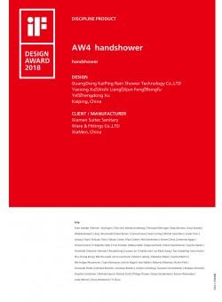 AW4 handshower  2018IF